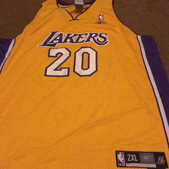 6d32bfa338b Reebok Other | Gary Payton La Lakers Jersey | Poshmark